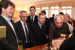 (c) Gilles Laurent / LEMOUSTICPRODUCTION / MaxPPP - HALLE GEORGES CARPENTIER LE 22/02/2014 - EHF HANDBALL (JOURNEE 10) ENTRE  LE PARIS SAINT GERMAIN  - SECTION HANDBALL ET LE RAKOMETEN KLUB VARDAR PRO SKOPJE -