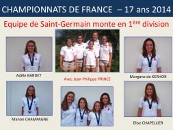 Equipe moins 17 ans fille