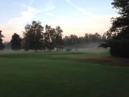 golf brouillard